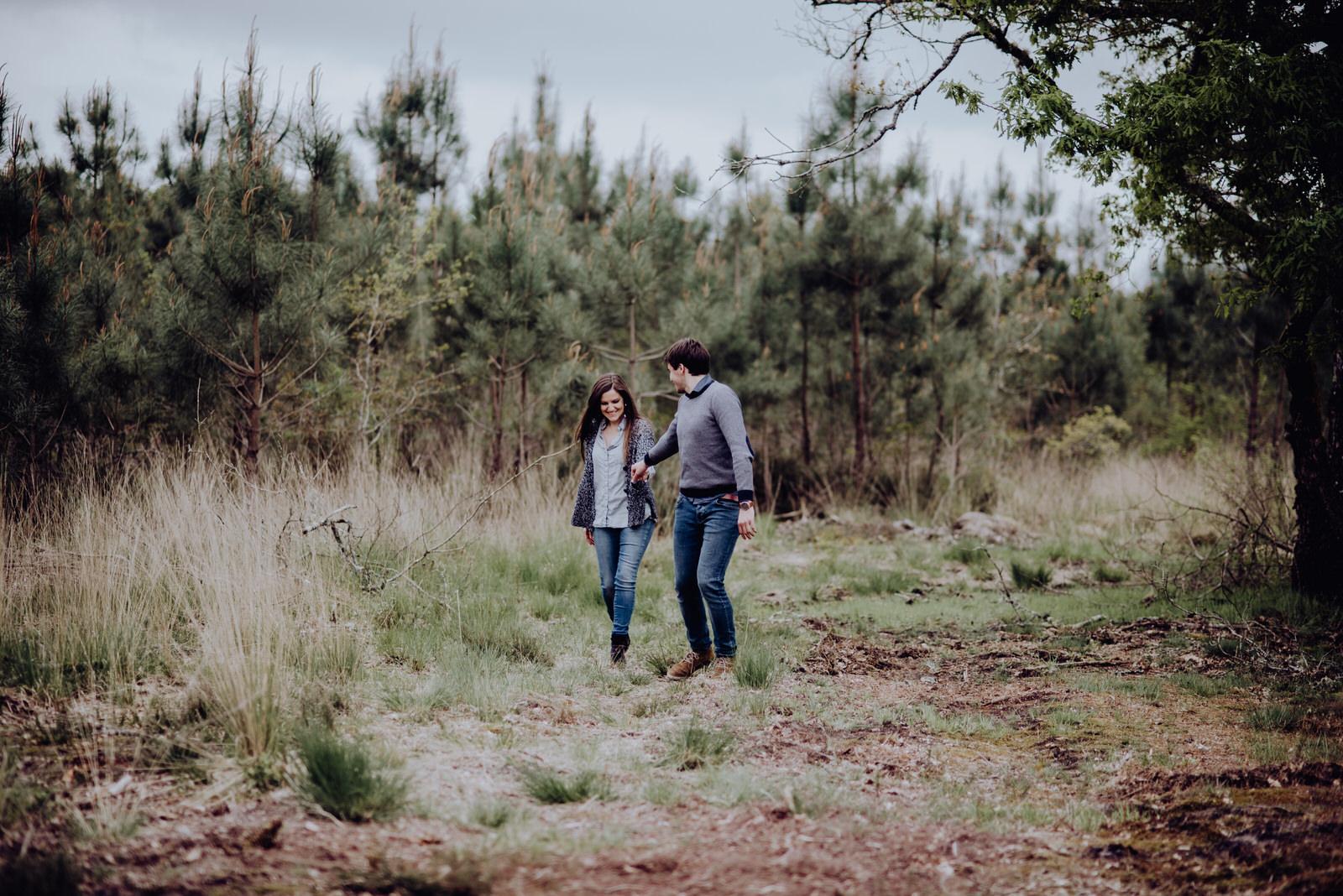 Photographe mariage les Landes, séance engagement, séance couple