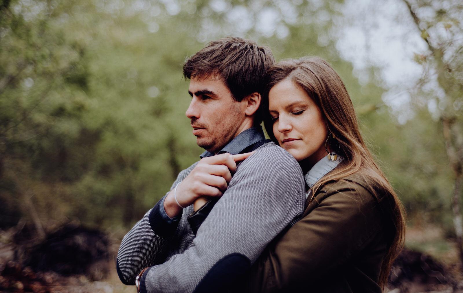 couple dans les landes