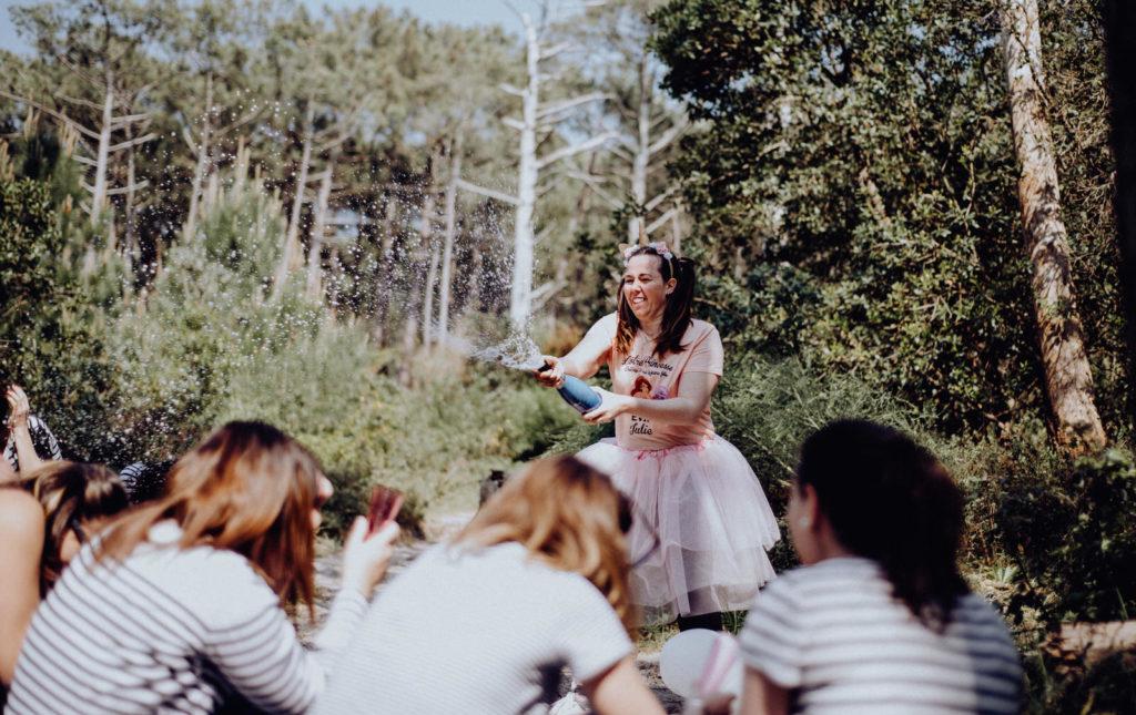 EVJF, fun, soleil, bassin d'arcachon, photographe mariage girond
