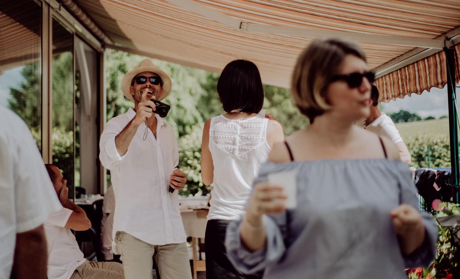 Photographe de mariage en gironde, anniversaire