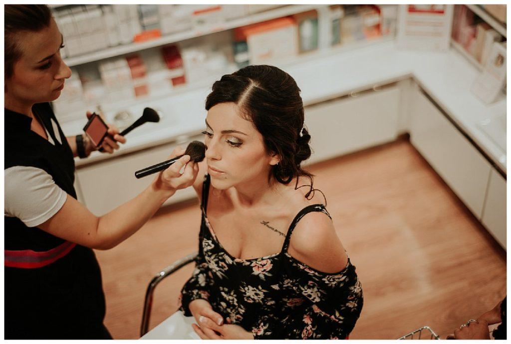 préparatifs de la mariée, maquillage, photographe mariage bordeaux