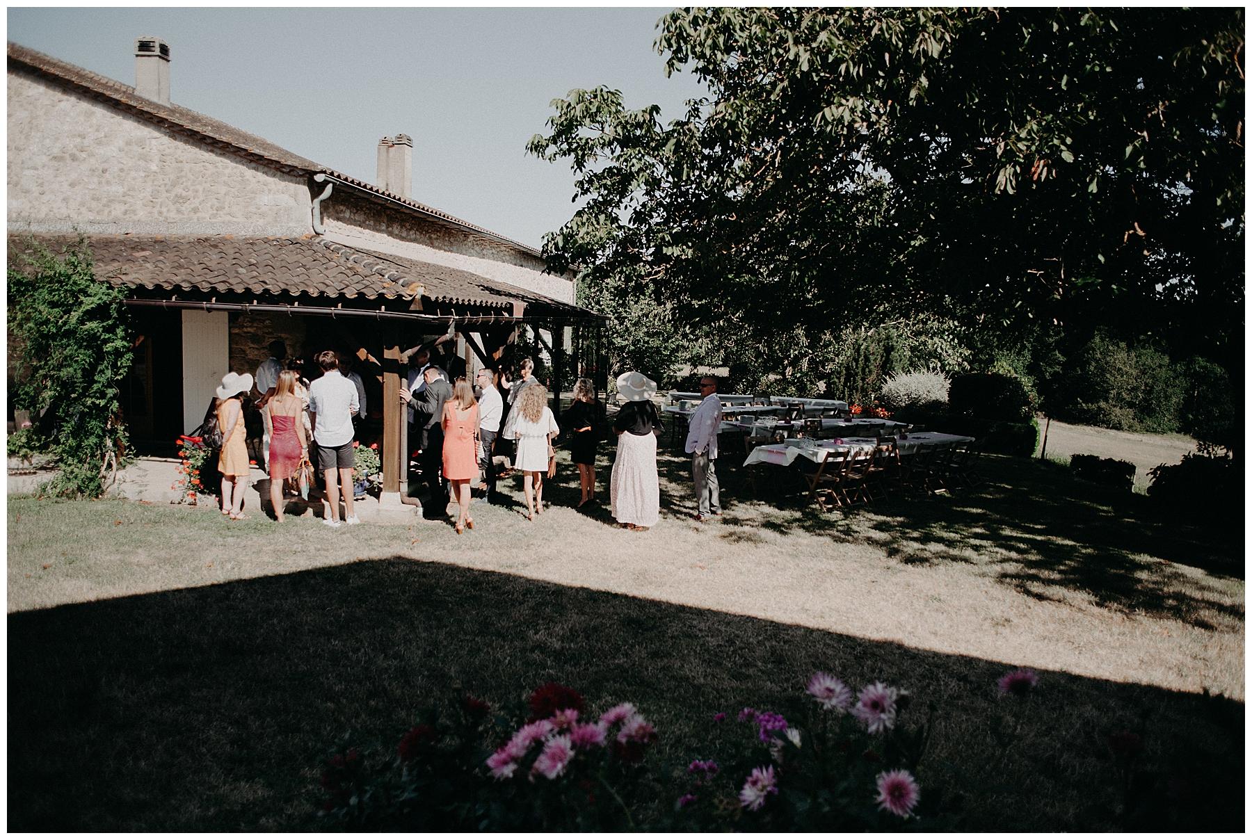 maison de famille mariage gironde