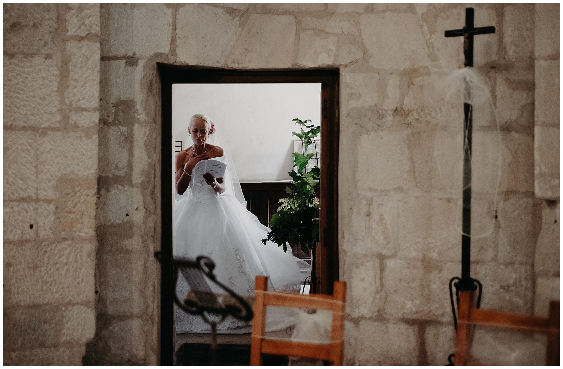 préparatif de la mariée à monteton