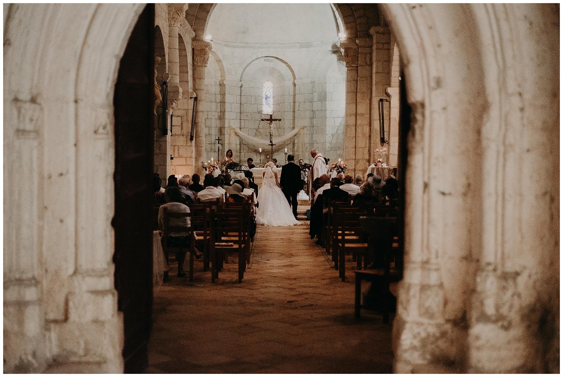 mariage église de monteton en lot et garonne