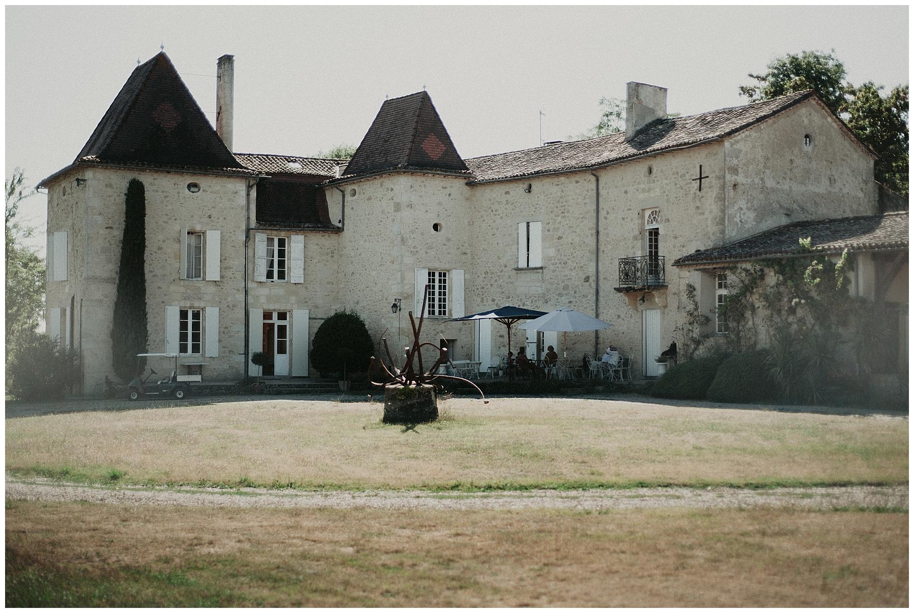 château Mondésir en Dordogne