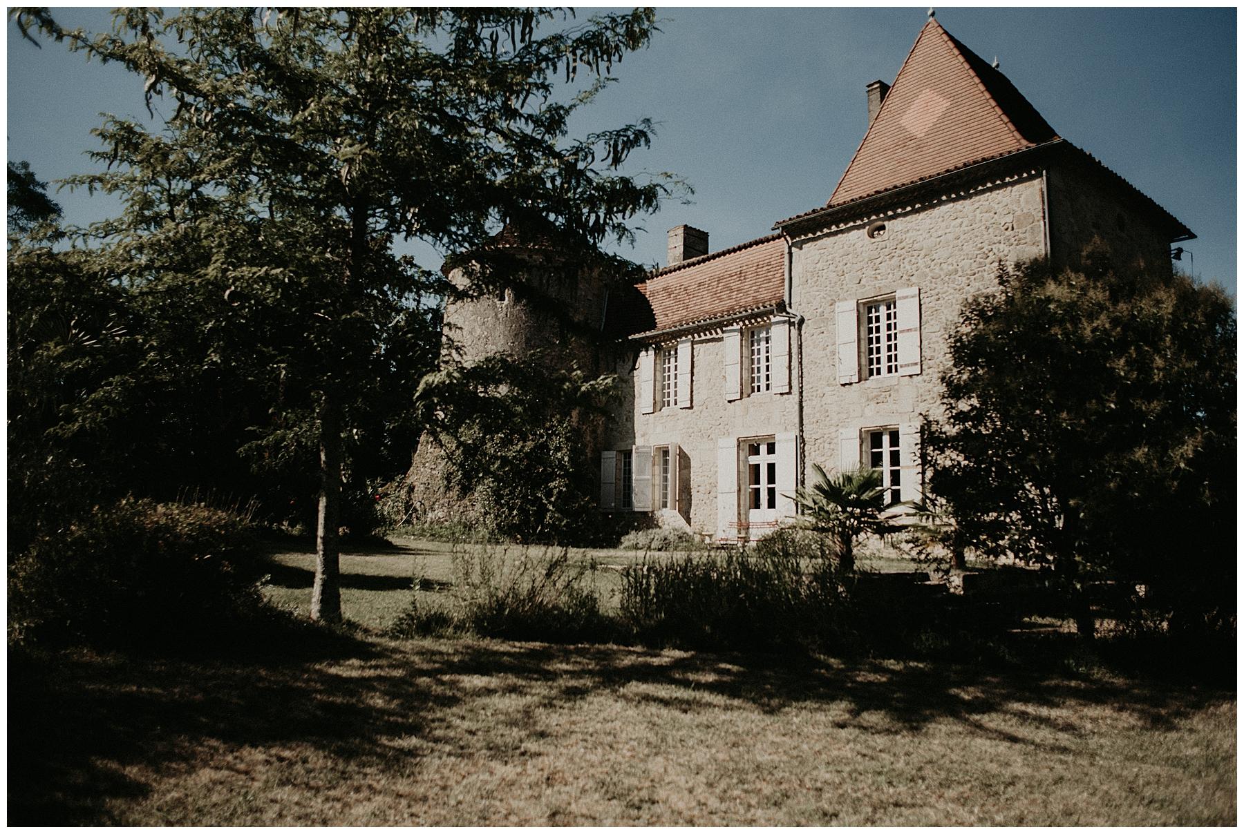 château Mondésir, mariage en Dordogne
