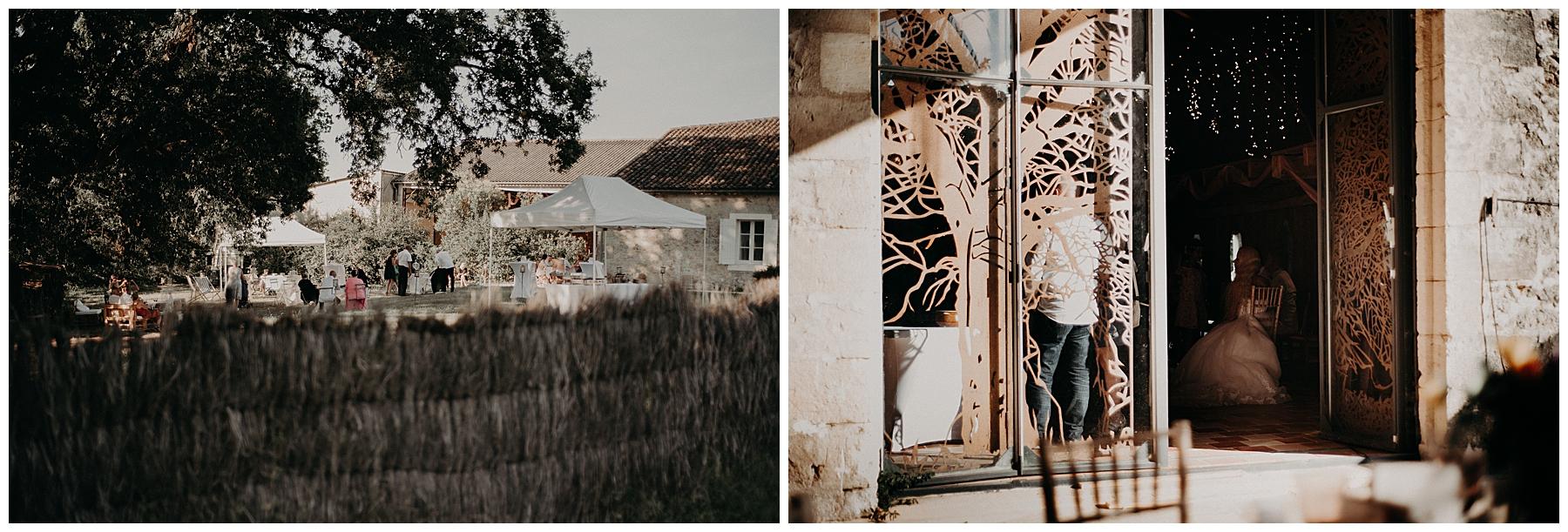 cocktail mariage château Mondésir en Dordogne