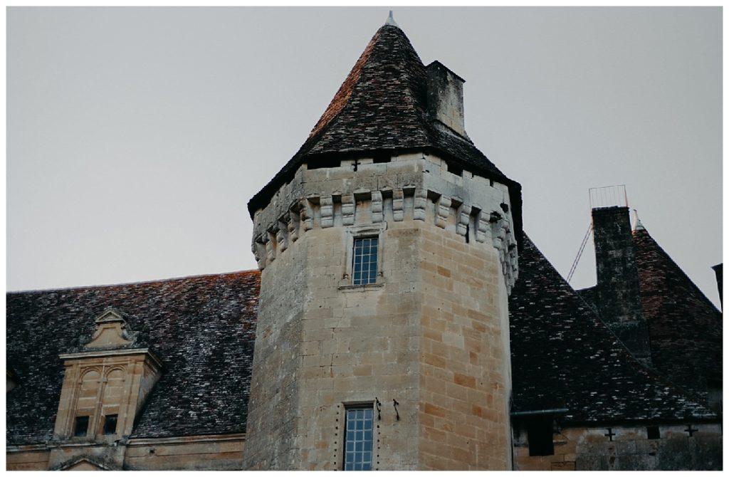 mariage château lanquais, dordogne, tour, grande de lanquais