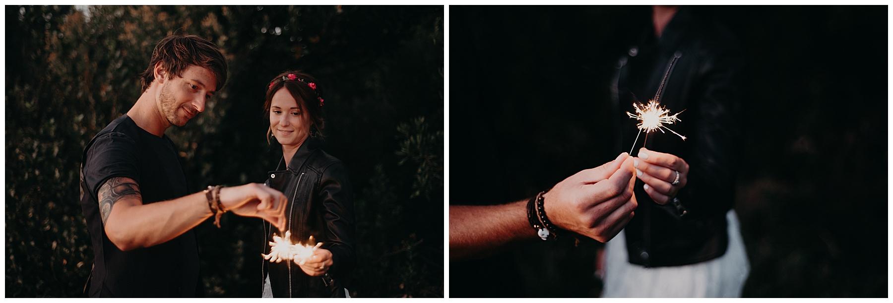 cierge magique avec séance couple bordeaux