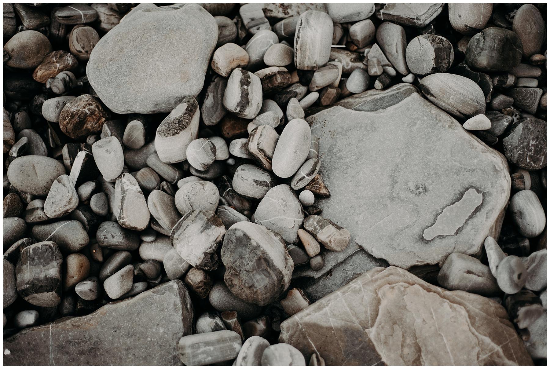 cailloux à la mer pays basque
