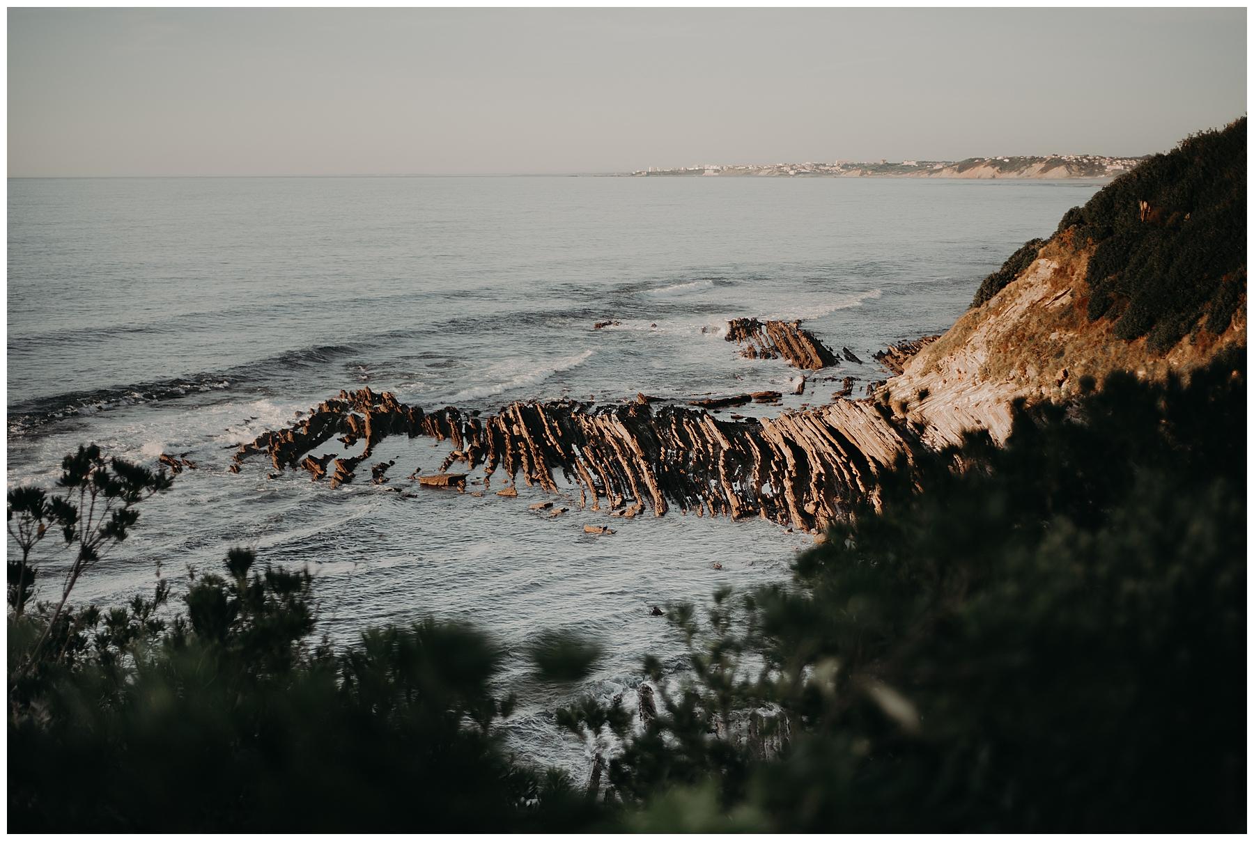 saint jean de luz, photo de la mer