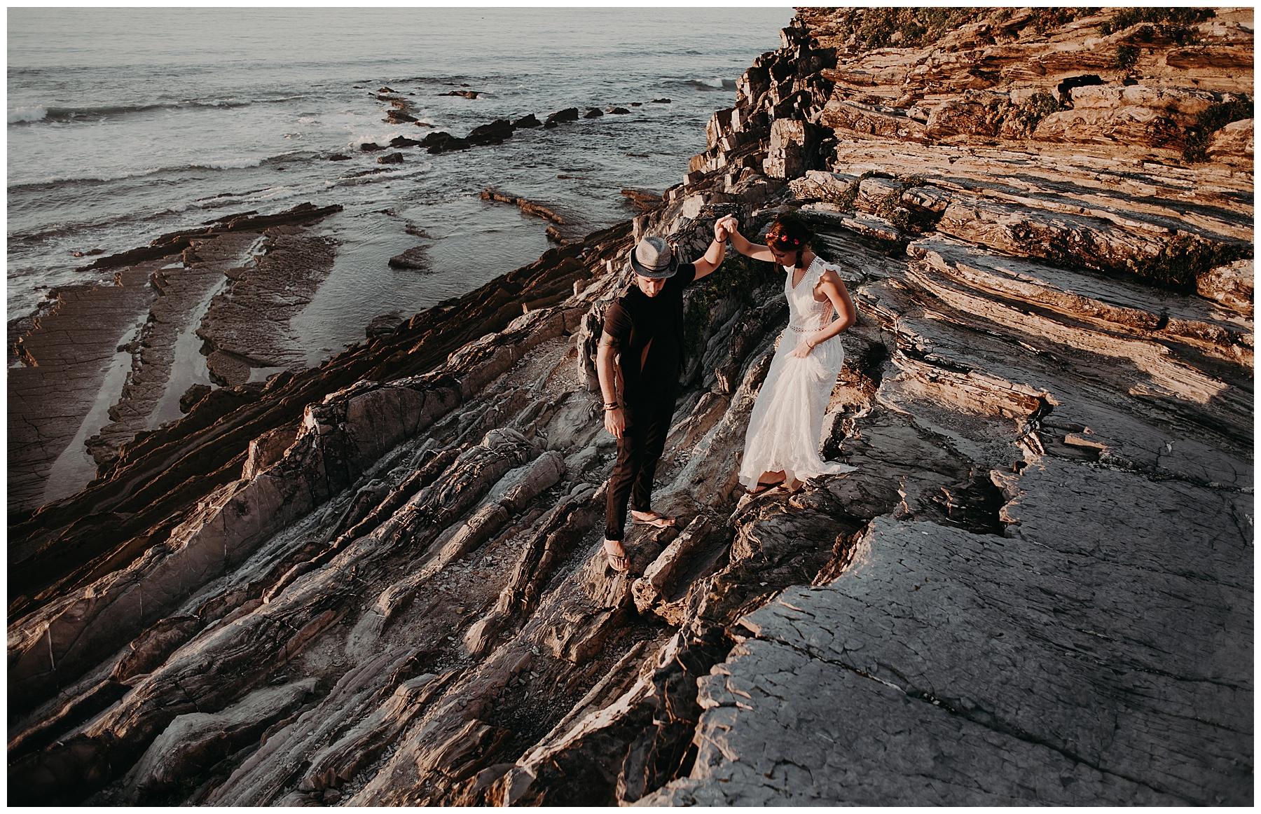 séance photo couple au pays basque
