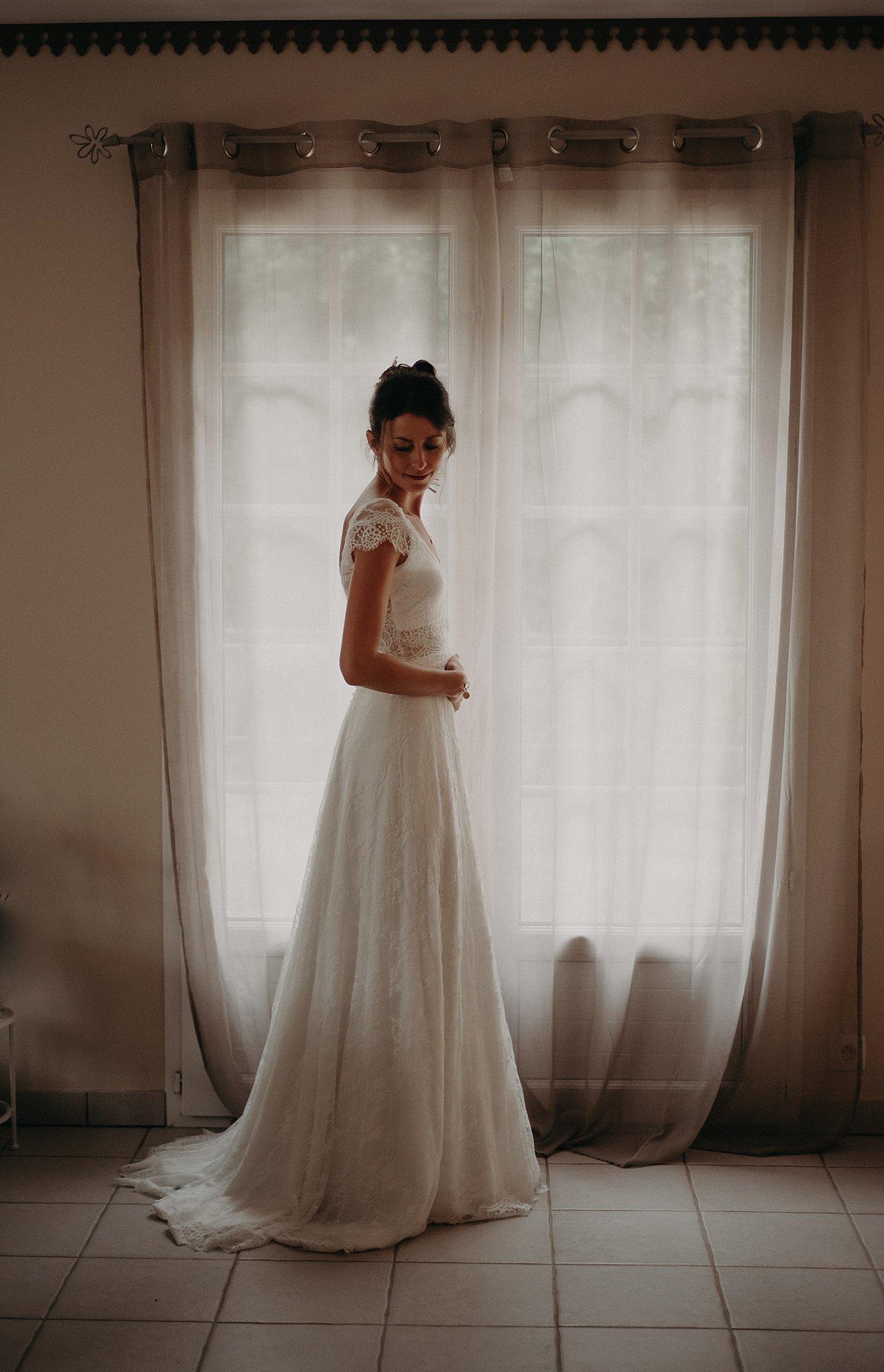 maquillage de la mariée, préparatifs de la mariée à Bordeaux