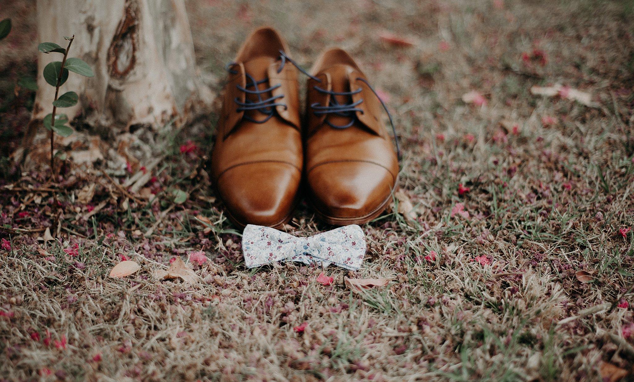 chaussures du marié Bordeaux, préparatifs du marié