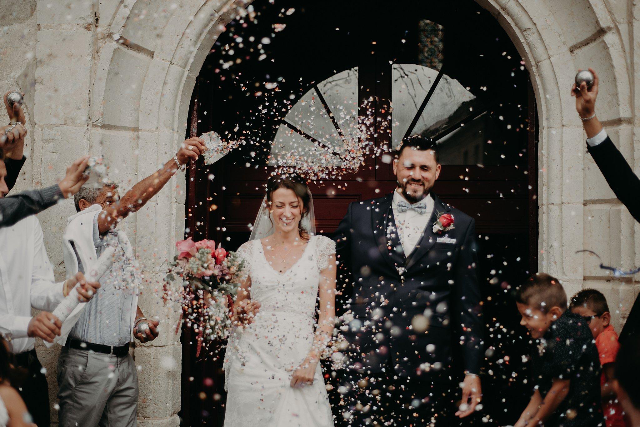 sortie eglise, mariage bordeaux, photographe mariage