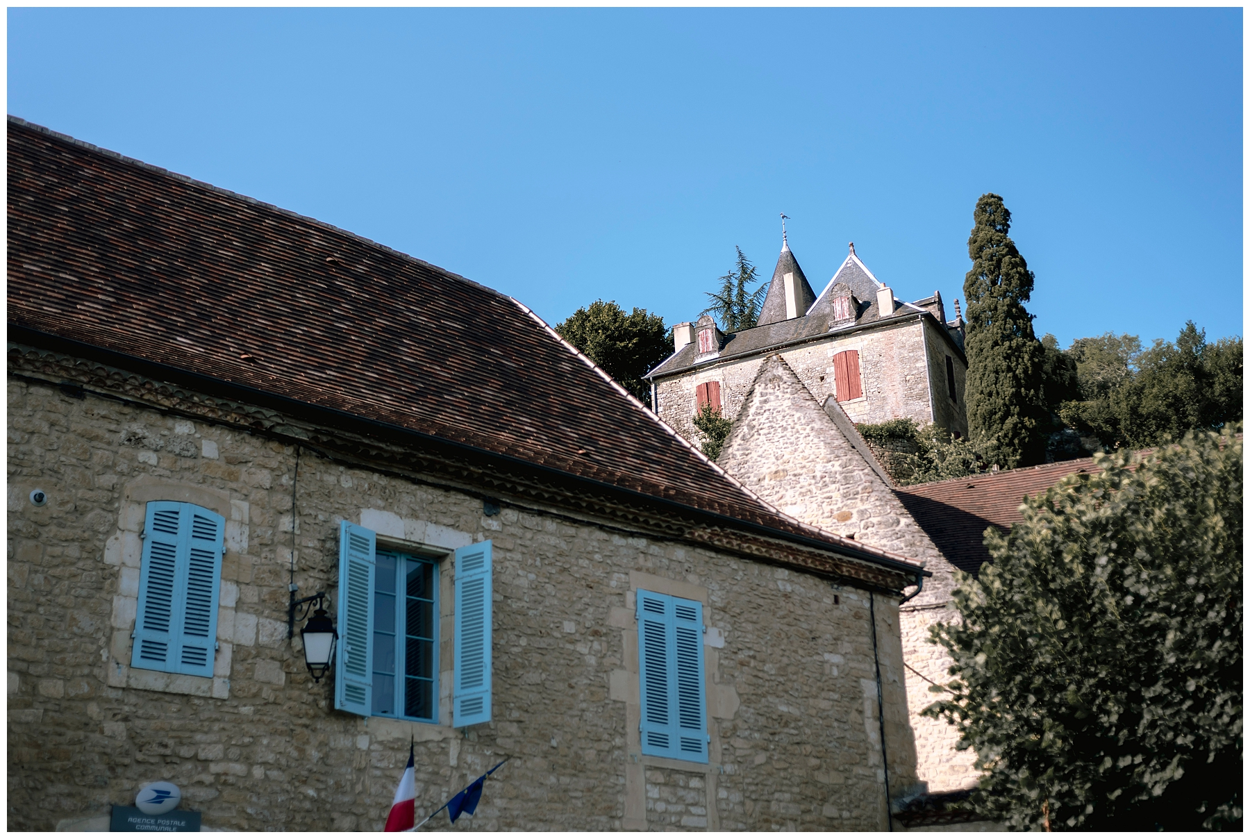 photo limeuil, village dordogne