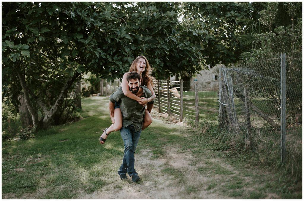 photographe mariage gironde ballade couple