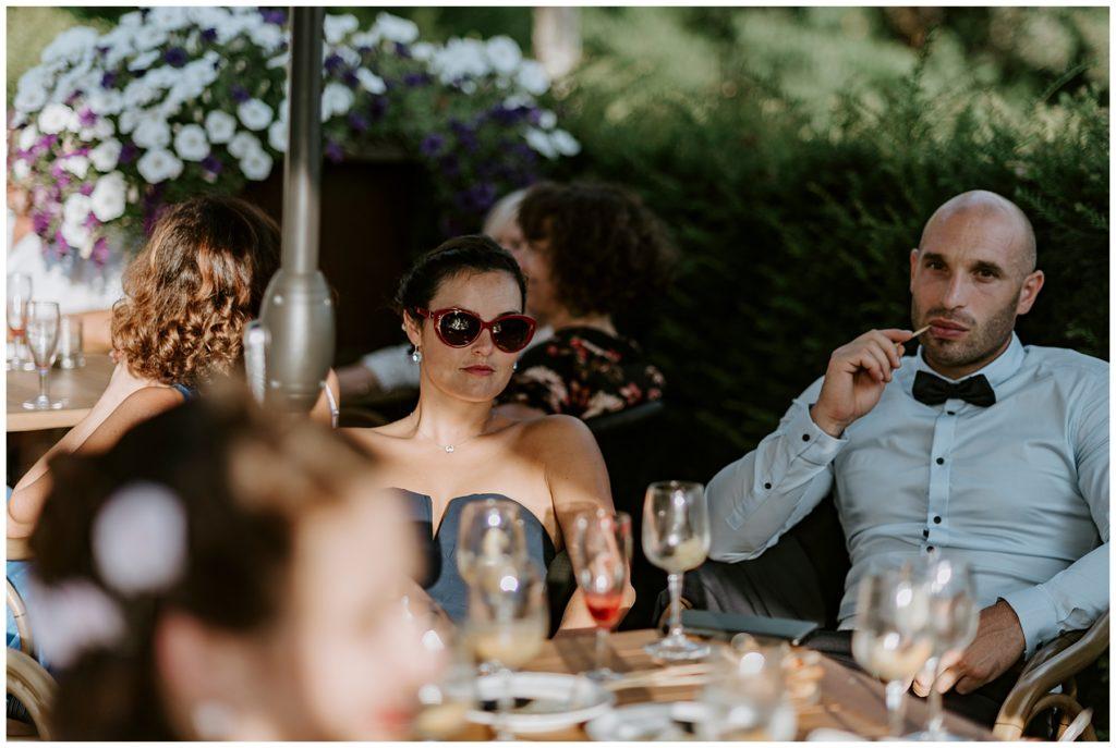 invités mariage château d'essendieras en dordogne