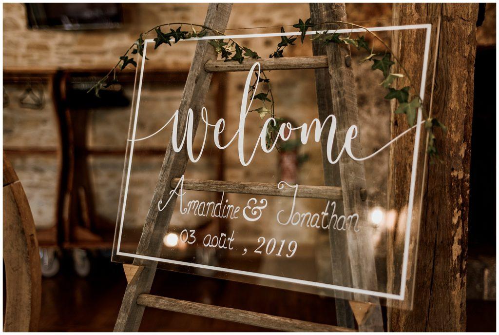 décoration mariage, mariage dordogne